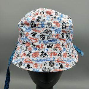 Walt Disney World Reversible Chin Strap Bucket Hat